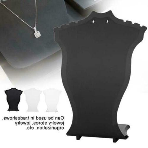 Mannequin Pendant Neck Model Display Stand US