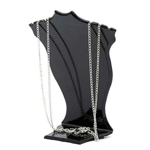 Mannequin Jewelry Pendant Neck Display Stand Decor
