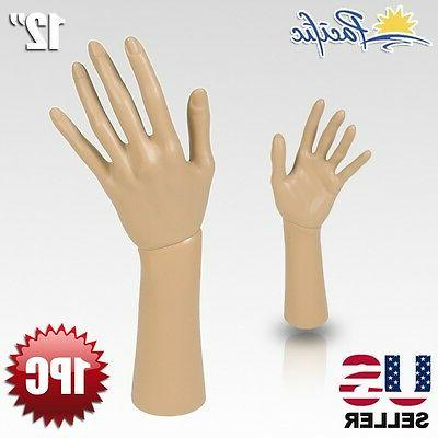 Mannequin Hand Display Jewelry Bracelet Necklace ring glove