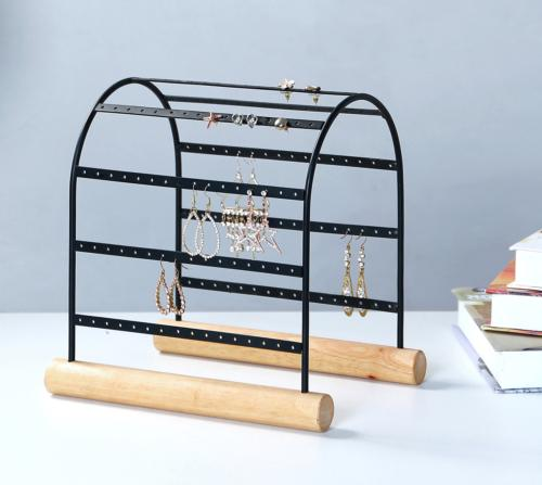 MyGift Modern Arched Design 72-Pair Earring Display Stand