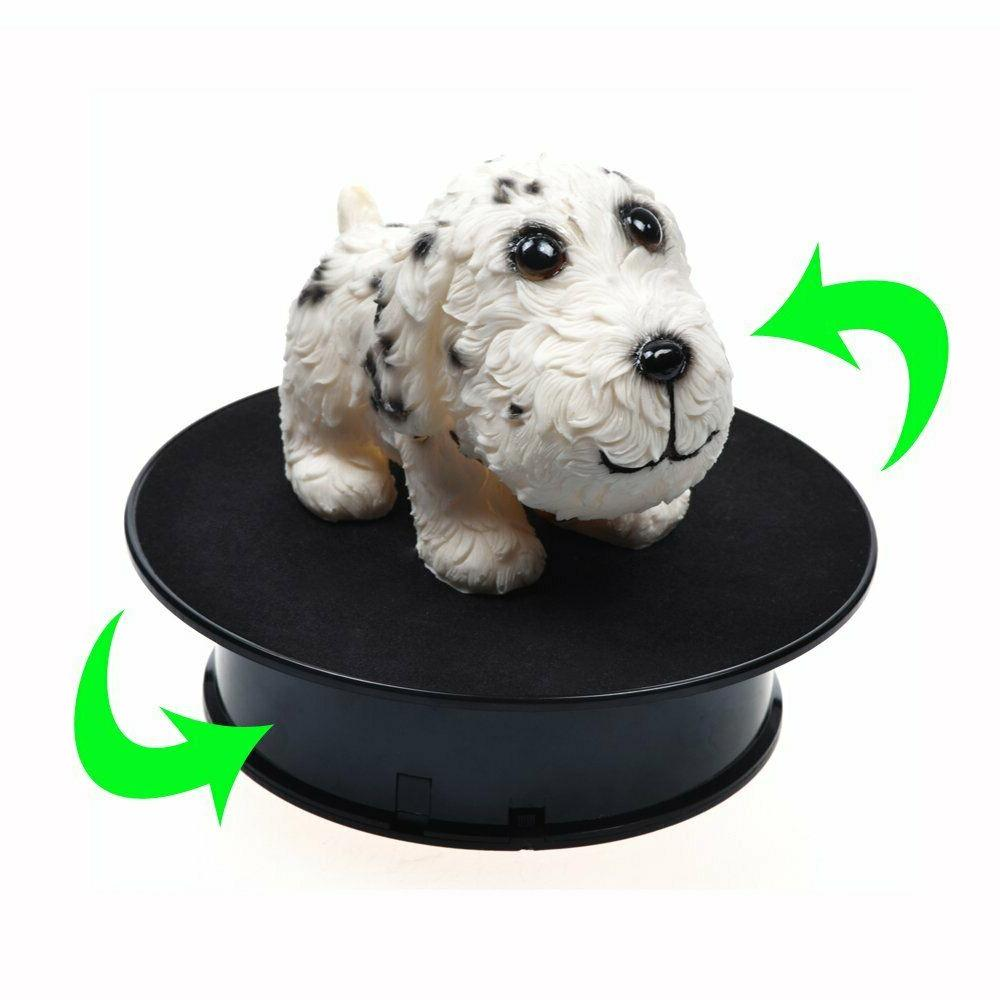 Motorized Rotating Display Stand Electric Velvet
