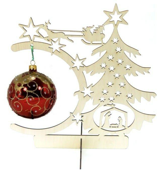 ornament display stand holder hangers 13 5