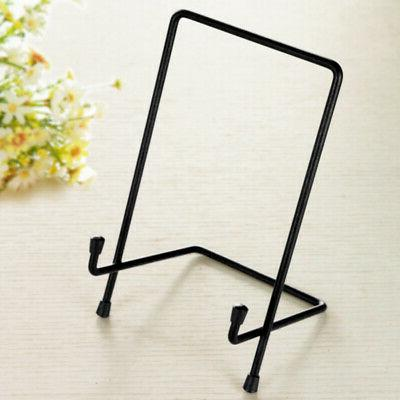 Photo Holder Dish Display Stand Plate Picture Frames Pedestal