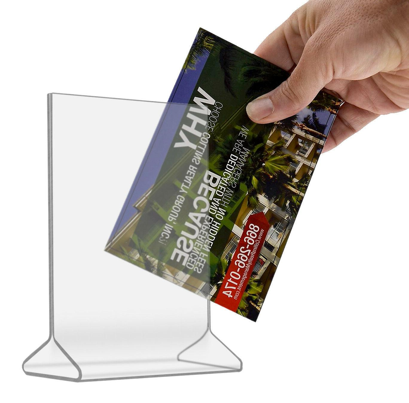 Product Information Double Sided Menu Counter Table Tent Dis