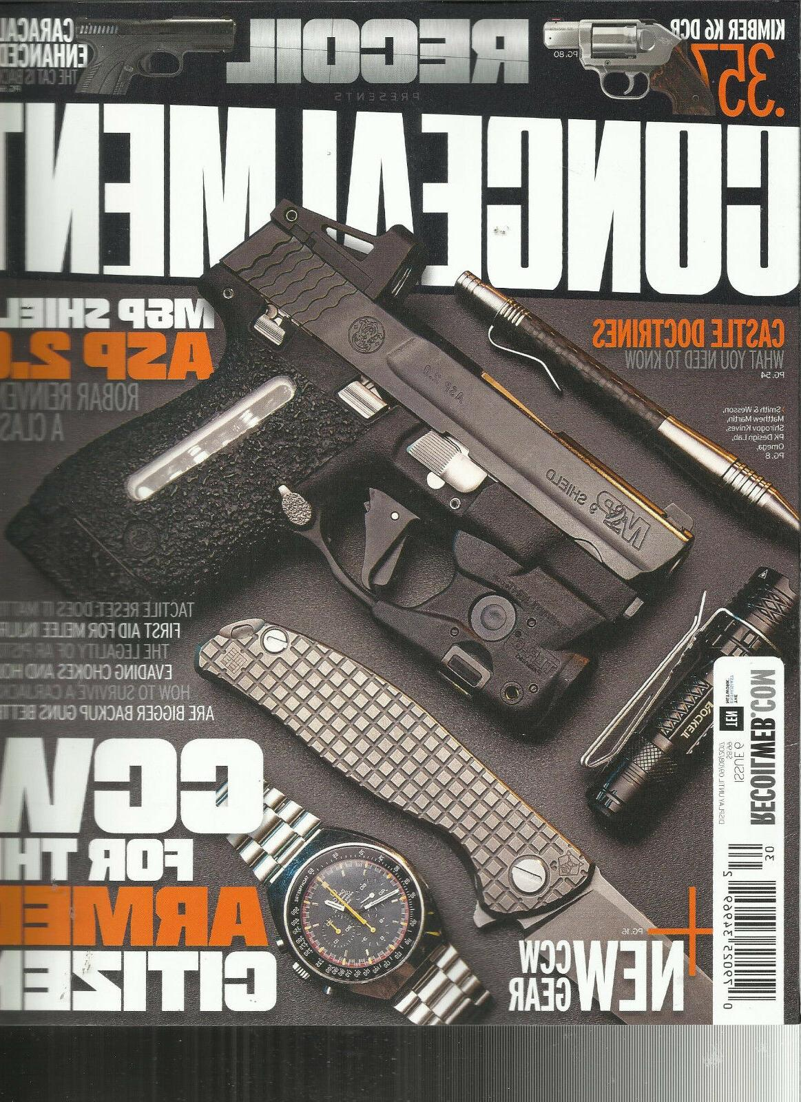 recoil concealment magazine 2017 issue 6 display