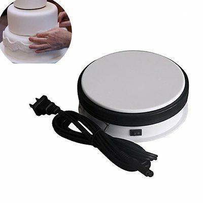 Round Rotating Display Stand Jewelry Watch Motorized Turntab