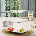 Silver Cupcake Stand Stainless Steel Wedding Birthday Cake D
