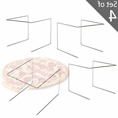 MyGift Pizza Tray Display Tabletop Set