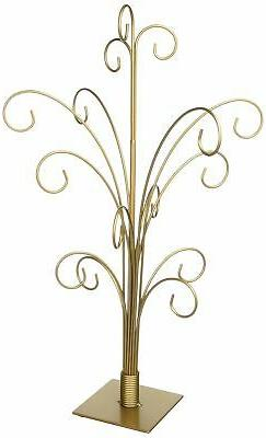 TRIPAR 34145 20 Inch Gold Color Ornament Tree
