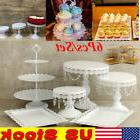 US Cake 6pcs Holder Cupcake Tower StandS Birthday Wedding Di