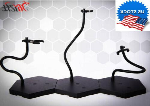 us figure stents display stand flexible metal