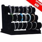 velvet 3tier t bar jewelry rack bracelet