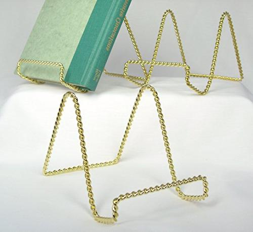 wire easel display stand metal