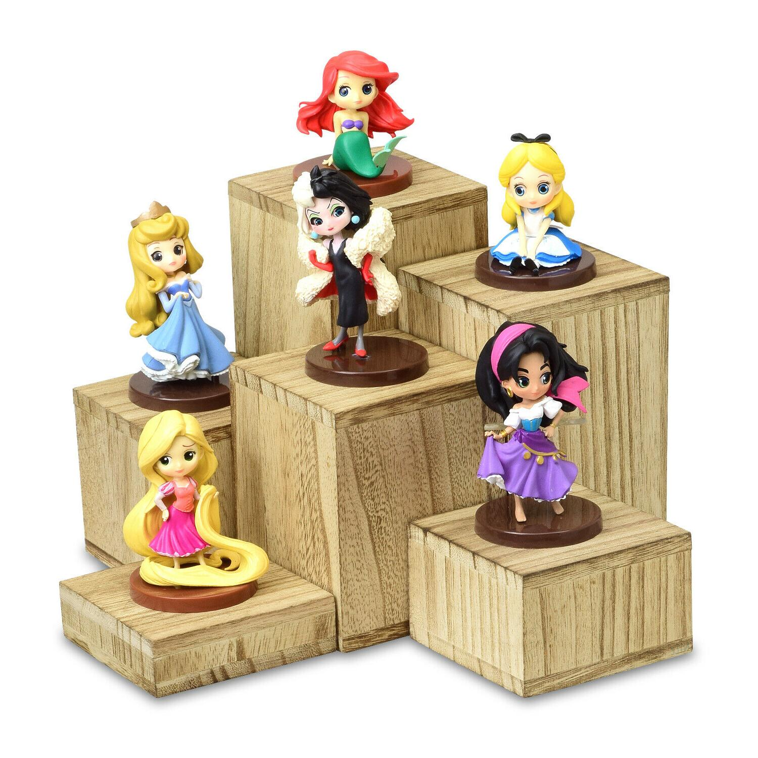 Wooden 6 Pcs Risers and Display