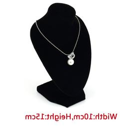 Lady Girl's Velvet Half Body Necklace <font><b>Display</b></