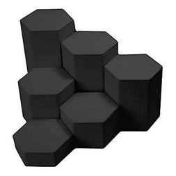 Leatherette Risers Set by Gems on Display Black