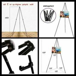 Lightweight Artist Easel Display Stand Metal Tripod for Pain