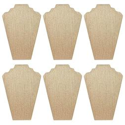 Mooca 6 Pieces Linen Cover MDF Wood with Sturdy Cardboard Ea