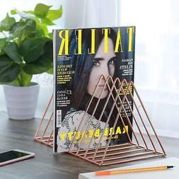 Magazine Display Stand Organizer Desktop Storage Holder Home
