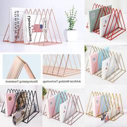 Magazine Display Stand Vintage Organizer Storage Holder Offi