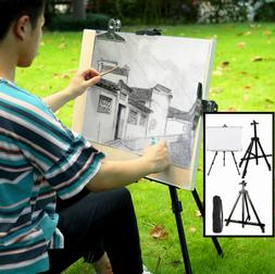 Metal Telescoping Tripod Artist Easel Display Stand Tabletop