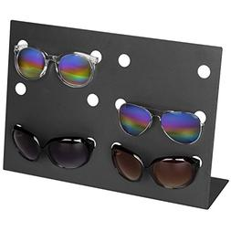 MyGift Modern Charcoal Gray Metal Retail Sunglasses Display