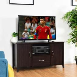 Modern Media Unit Storage TV Shelf Cabinet Stand Frame With