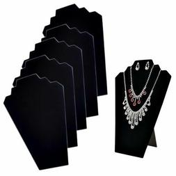 Necklace Jewelry Display Cards Organizer Stand 6 Pieces 12.5