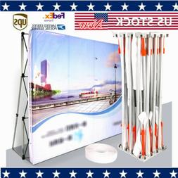 3*3M  Backdrop Booth Frame Straight Pop Up Display Stand Fas