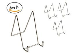 Bovado USA Pack of 4 Nickel Plate Stands Decorative Counter