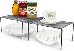 Sorbus Pantry Cabinet Organizers —Features Stackable Expan