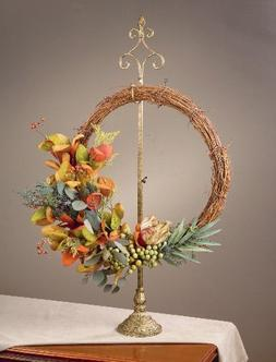 TRIPAR Parisian Wreath Stand - Adjustable Height