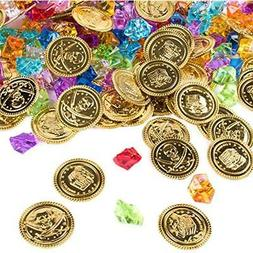 Party Favors Super Z Outlet Pirate Gold Coins Buried Treasur