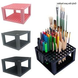 Pen Pencil Brush Holder Display Stand Storage Rack Home Offi