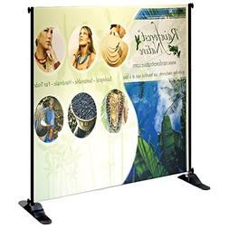 Personalized Jumbo Banner Small Tube  7'x7' Graphic Package