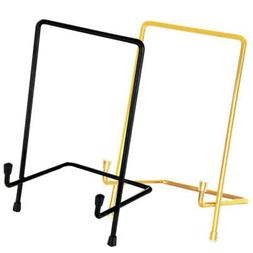 Picture Photo Holder Dish Iron Display Stand Pedestal Easel