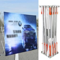 PORTABLE 3*3m Backdrop Display Wall Stand Frame Booth Trade