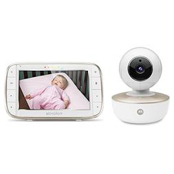 Motorola 5 inch Portable Video Baby Monitor with Wi-Fi - MBP