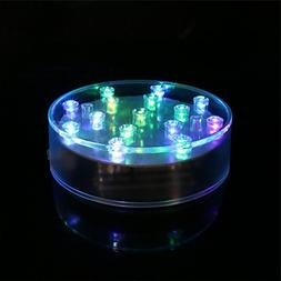 ARDUX 4 inch Round-shape 15 LED Lights Battery Powered Pedes