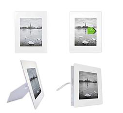 Golden State Art, Pack of 10 White 11x14 Self-assemble Photo