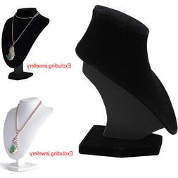 Shop Mannequin Bust Jewelry Necklace Earring Pendant Display
