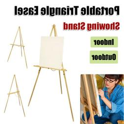 Showing Stand Display Painting Crafting Sketch Triangle Ease