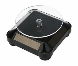 Solar Display Stand Turntable,Battery Double Used Rotating S