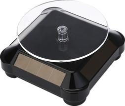 Solar Display Stand Turntable ,Battery Double Used Rotating