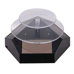 Merchandise Display Base Rotating Display Stand Double-Layer