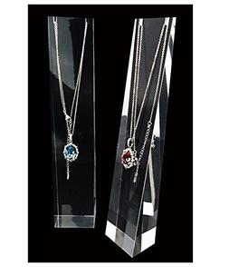 Jewelry Display Stands Premium Grade Clear Acrylic Necklace