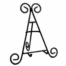 """Goldenvalueable 2 pack of 12"""" Tall Black Iron Display Stand"""