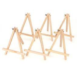 "Tosnail 9"" Tall Natural Pine Wood Tripod Easel Photo Paintin"