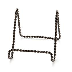 Darice 5202-67 Twisted Wire Easel Stand, 6-Inch, Black