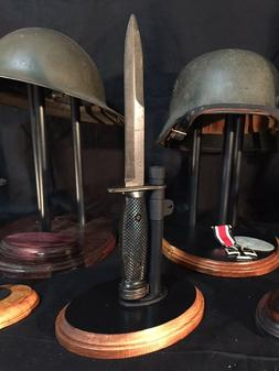 US-M Four Bayonet Stand -  Display Stand for US WWII, Korea